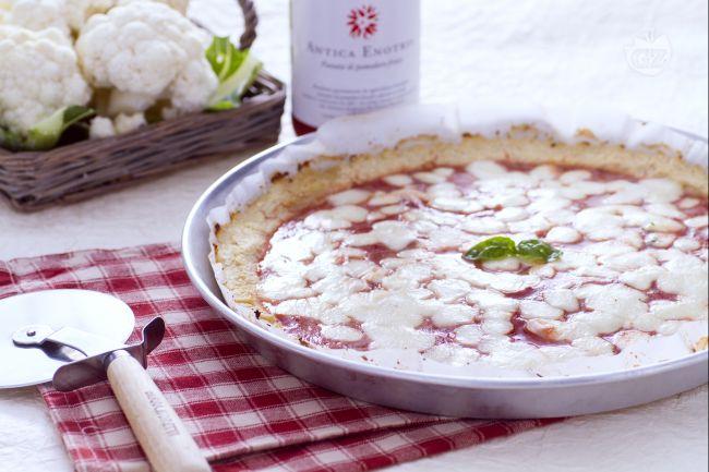 Ricetta finta pizza al cavolfiore