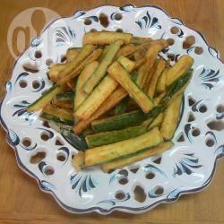 Bastoncini di zucchine fritte