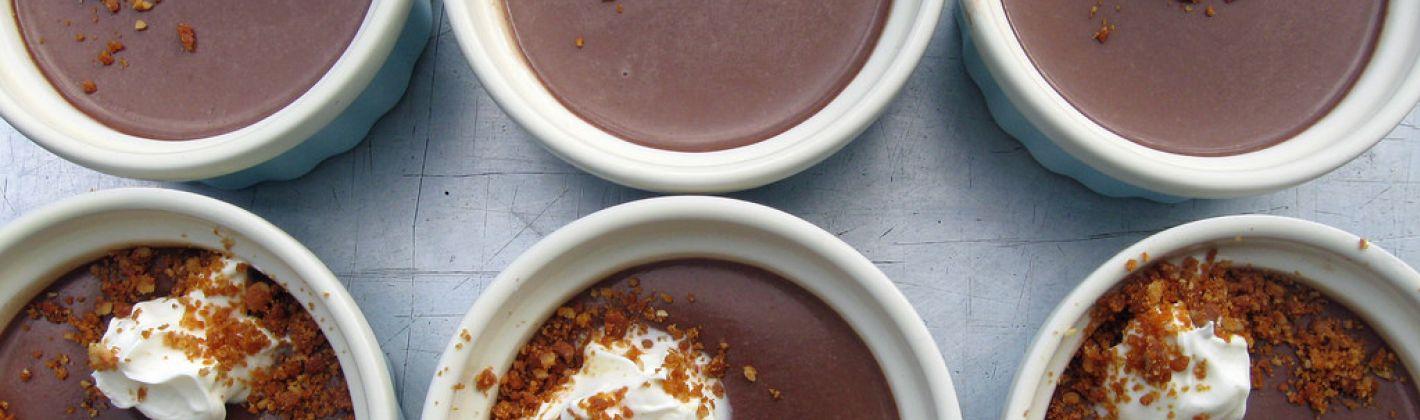 Ricetta budino al latte e cioccolato