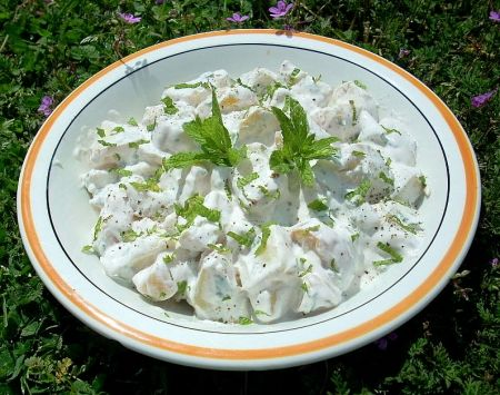 Ricetta insalata di patate alla menta