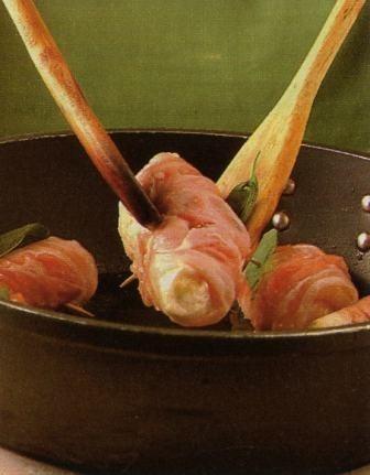 Ricetta involtini di patate con bacon