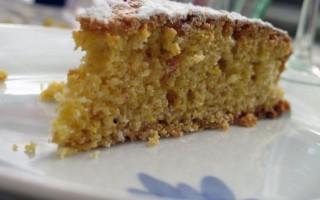 Ricetta torta di farina gialla allo yogurt