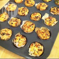 Mini cupcake ricotta e acciughe