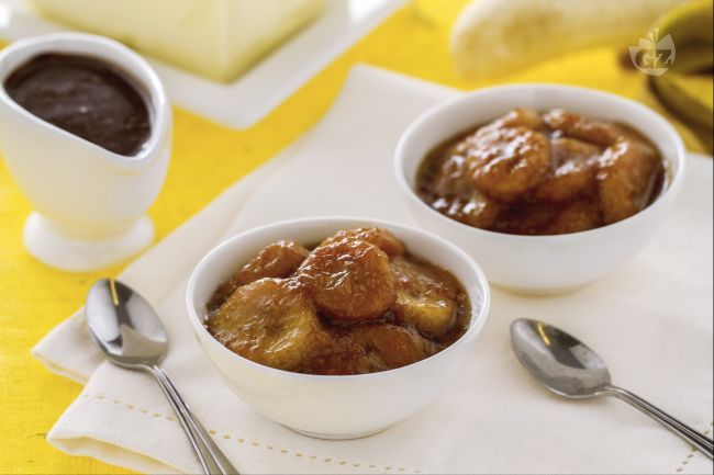 Ricetta banane caramellate