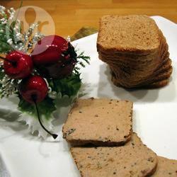 Brioche con foie gras