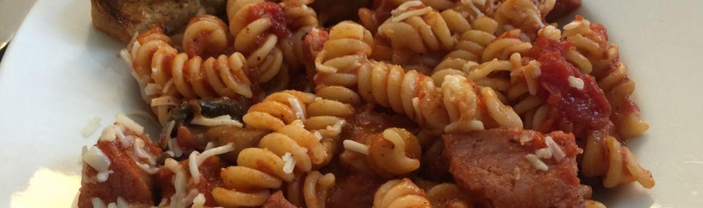 Ricetta insalata di pasta con wurstel