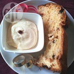 Crema al mascarpone e limoncello per pandoro o panettone