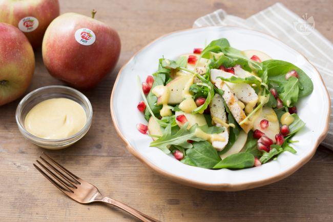 Ricetta insalata di pollo e mele