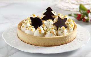 Ricetta crostata con namelaka al cioccolato bianco e vaniglia ...