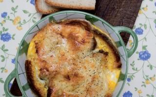 Ricetta gratin di pane e fontina