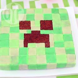 Torta creeper di minecraft