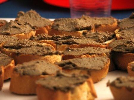 Ricetta crostini con i fegatini