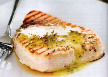 Pesce spada in salsa aromatica