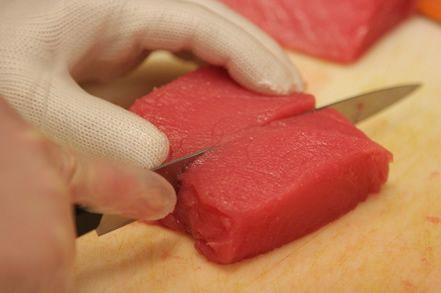 Ricetta tranci di tonno in crosta di patate