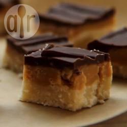 Dolcetti al caramello e cioccolato