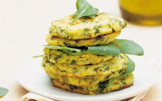 Ricetta medaglioni di spinaci al forno