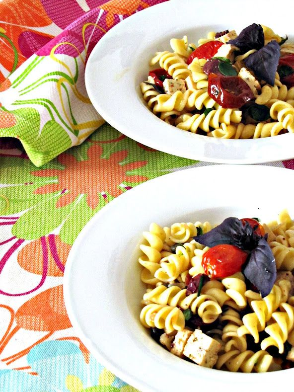 Ricetta pasta fredda in insalata greca