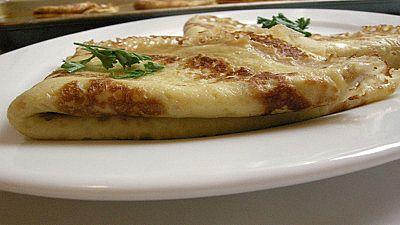 Ricetta crepes ai 5 formaggi con il bimby