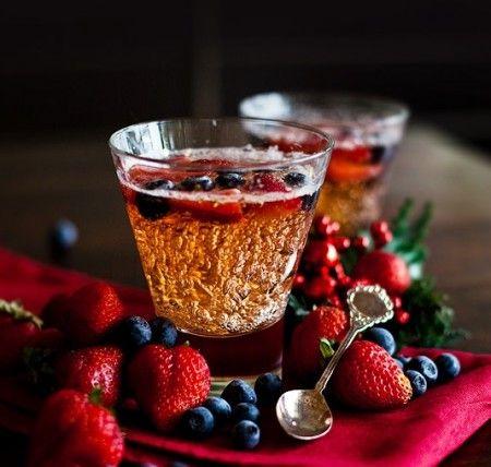 Ricetta gelatina di vino spumante