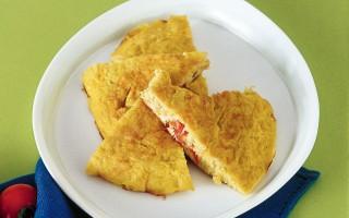 Ricetta frittata con polpa di granchio allo zenzero