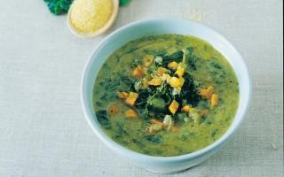 Ricetta zuppa di cavolo nero e farina gialla