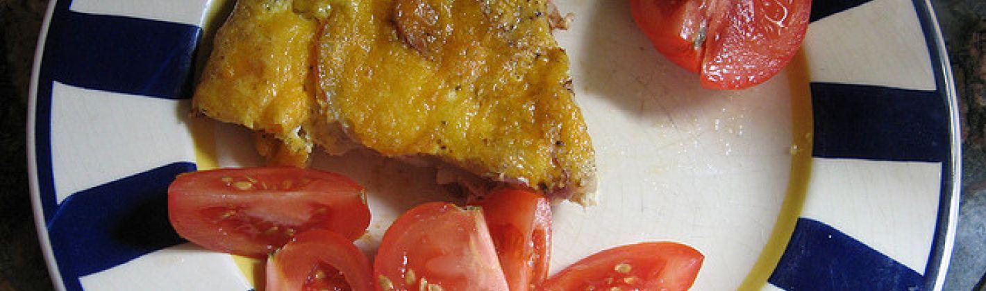 Ricetta frittata con wurstel e formaggio