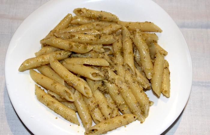 Penne al pesto di pistacchio fai da te
