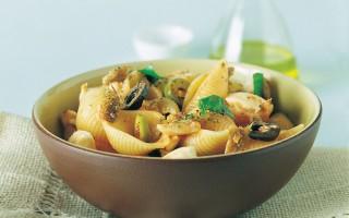 Ricetta conchiglie alle olive
