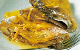 Ricetta crêpe suzette