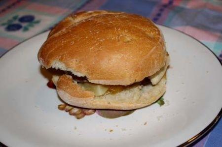 Ricetta hamburger all'italiana