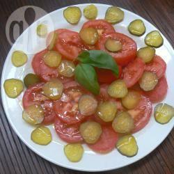 Pomodori e cetriolini