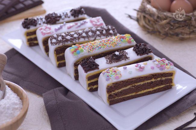 Ricetta torta a fette