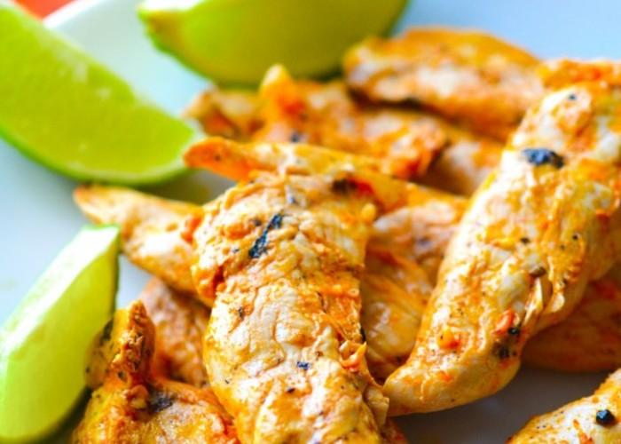 Pollo grigliato al lime