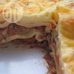 Lasagne alla bolognese con besciamella