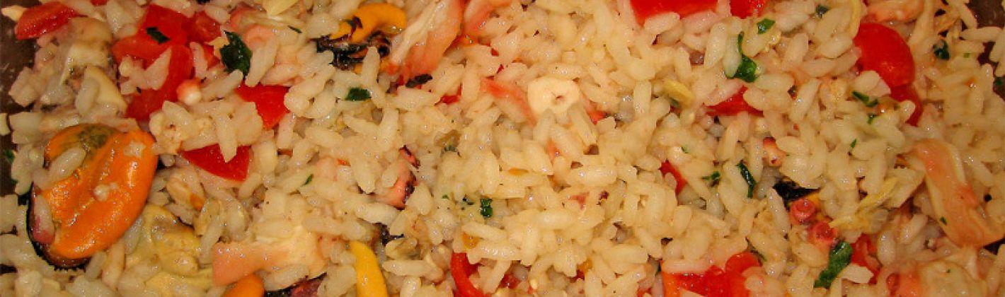 Ricetta insalata di riso di mare