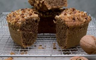 Ricetta torta rustica di noci e caffè