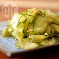 Insalata di cetrioli giapponese (sunomono)