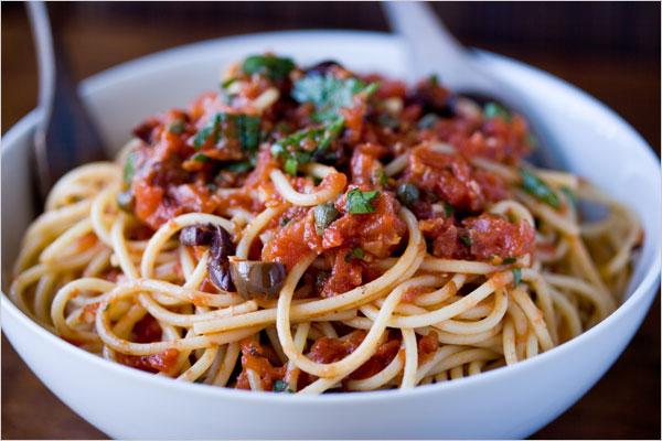 Spaghetti ai capperi