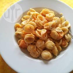 Pasta alla zucca e gorgonzola