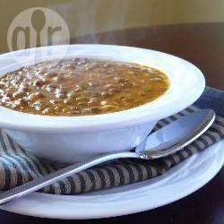 Zuppa di lenticchie alla greca