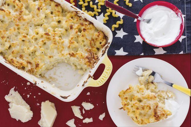 Ricetta maccheroni cheese