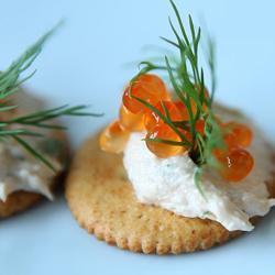 Crema spalmabile di salmone affumicato
