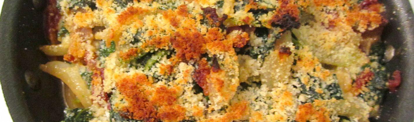 Ricetta gratin di spinaci e uova