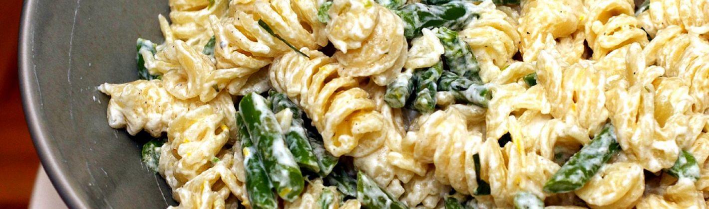 Ricetta pasta con asparagi, ricotta e uova