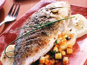 Pesce al forno alla portoghese