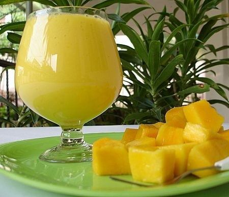 Ricetta lassi di mango