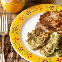 Frittelle salate di zucchine