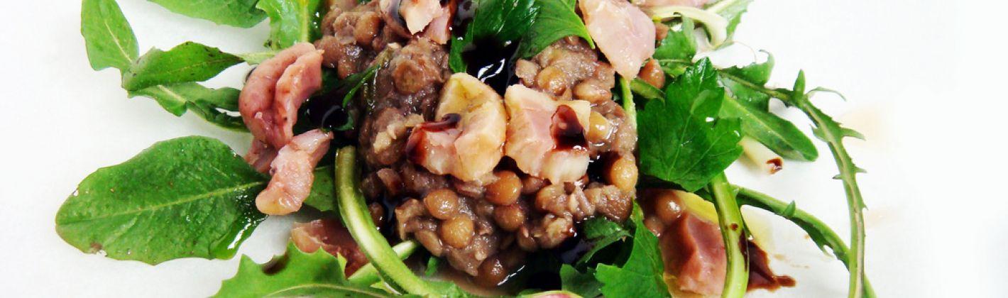 Ricetta insalata con le castagne