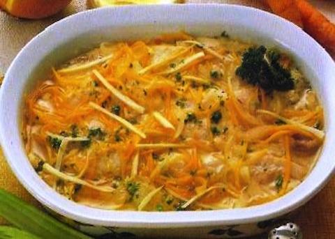 Filetti di pesce persico in carpione