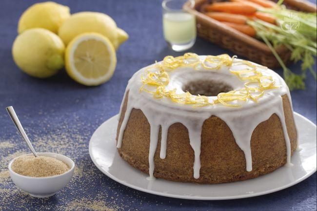 Ricetta torta alle carote e limoncello